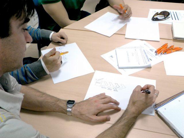 Innovando con design thinking