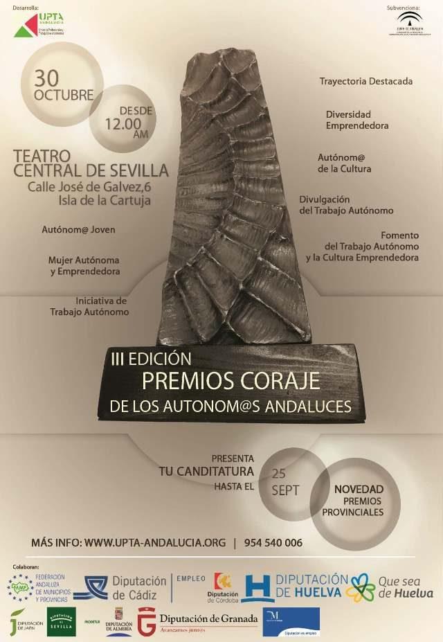 """III Edición Premio """"Coraje de l@s autonom@s andaluces"""""""