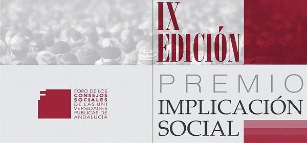El Foro de Consejos Sociales convoca el IX Premio a la Implicación Social de las Universidades Públicas Andaluzas
