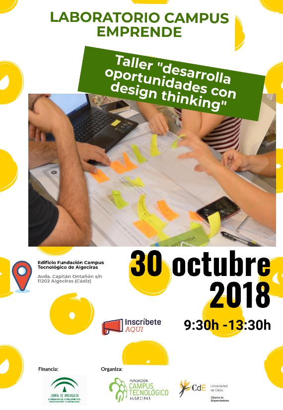 Taller Desarrolla oportunidades con design thinking