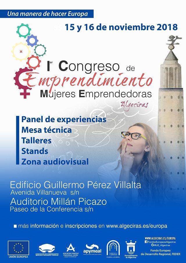 I Congreso de Emprendimiento Algeciras: Mujeres Emprendedoras