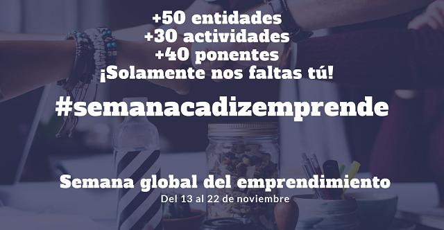 #semanacadizemprende