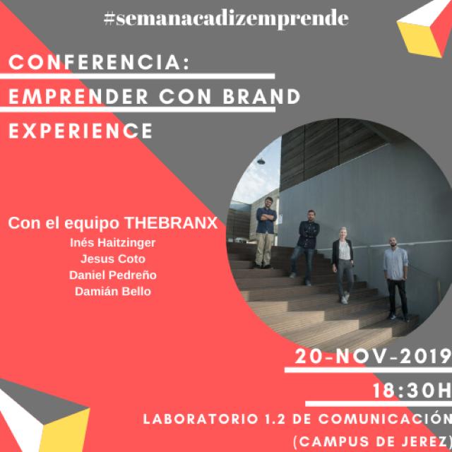 Conferencia «Emprender con Brand Experience»