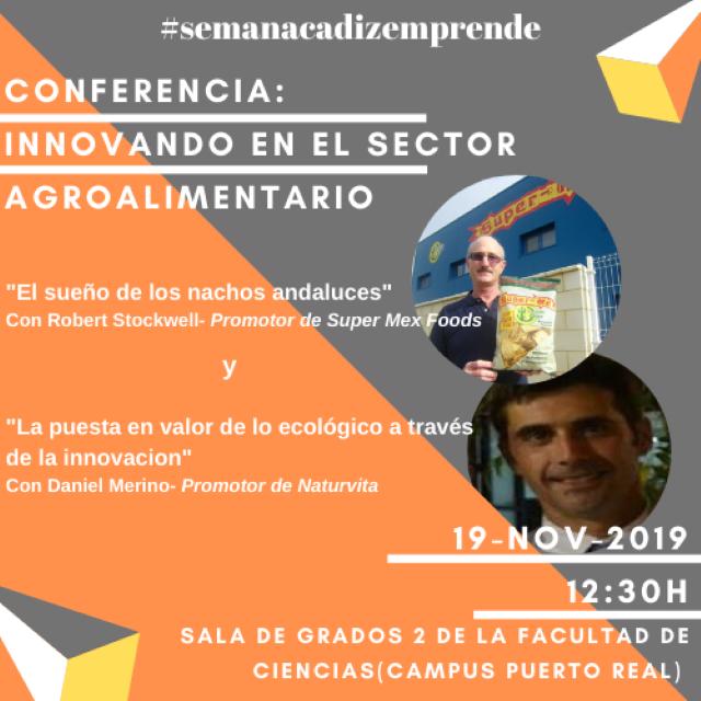 Conferencias «Innovando en el sector agroalimentario»