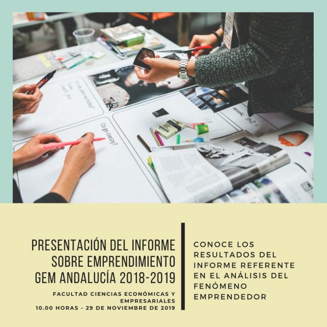 Presentación Informe GEM Andalucía 2019