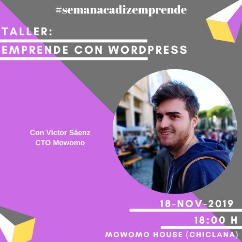Taller «Emprende con WordPress»