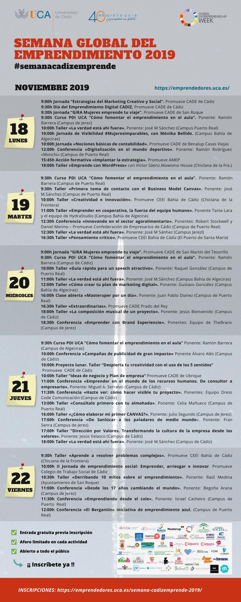 Programa #semanacadizemprende