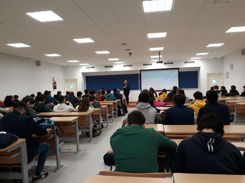 Enseñanzas #semanacadizemprende 2019. Celia Mañueco en la Escuela Superior de Ingeniería de Puerto Real