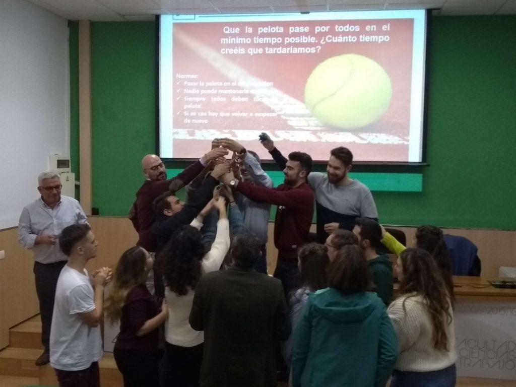 Enseñanzas #semanacadizemprende 2019. Práctica en el taller de Dirección por valores
