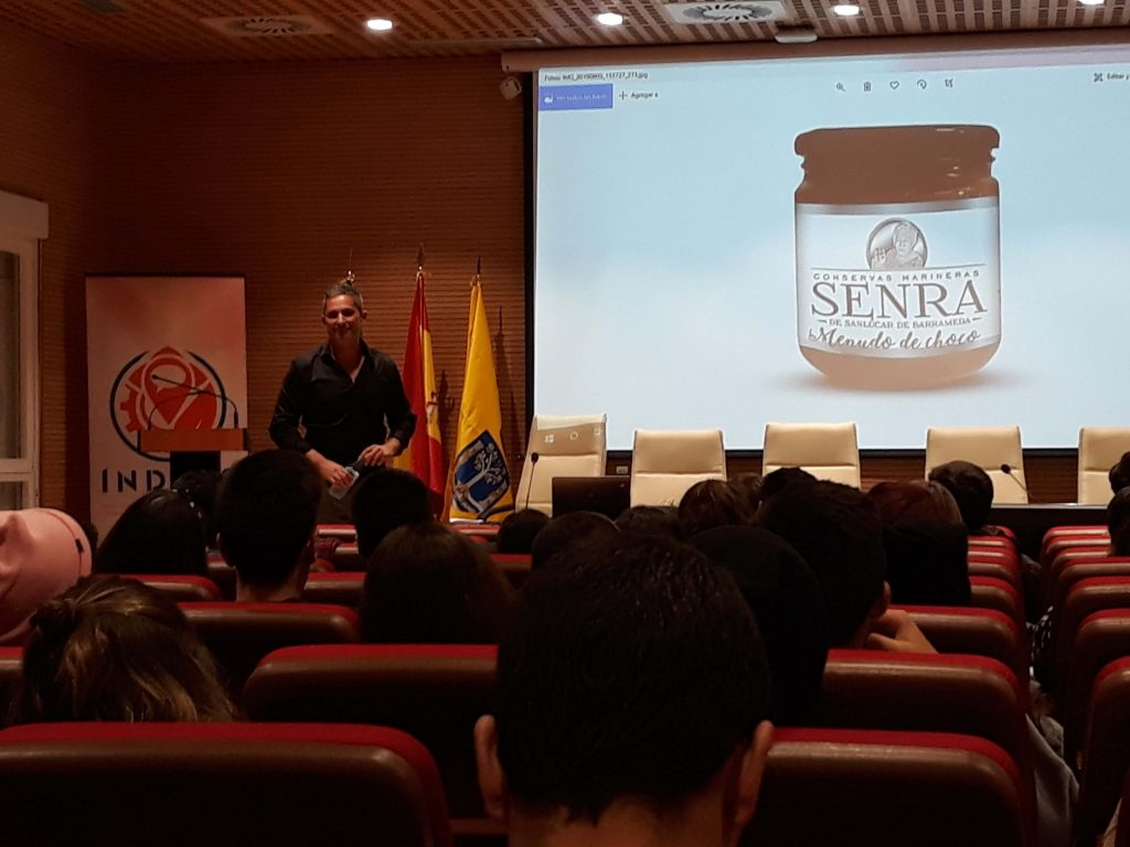 Enseñanzas #semanacadizemprende 2019. Conservas Serra en el INDESS