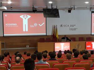 "Ramón Rodríguez ""Monchi"" hablando sobre scouting"