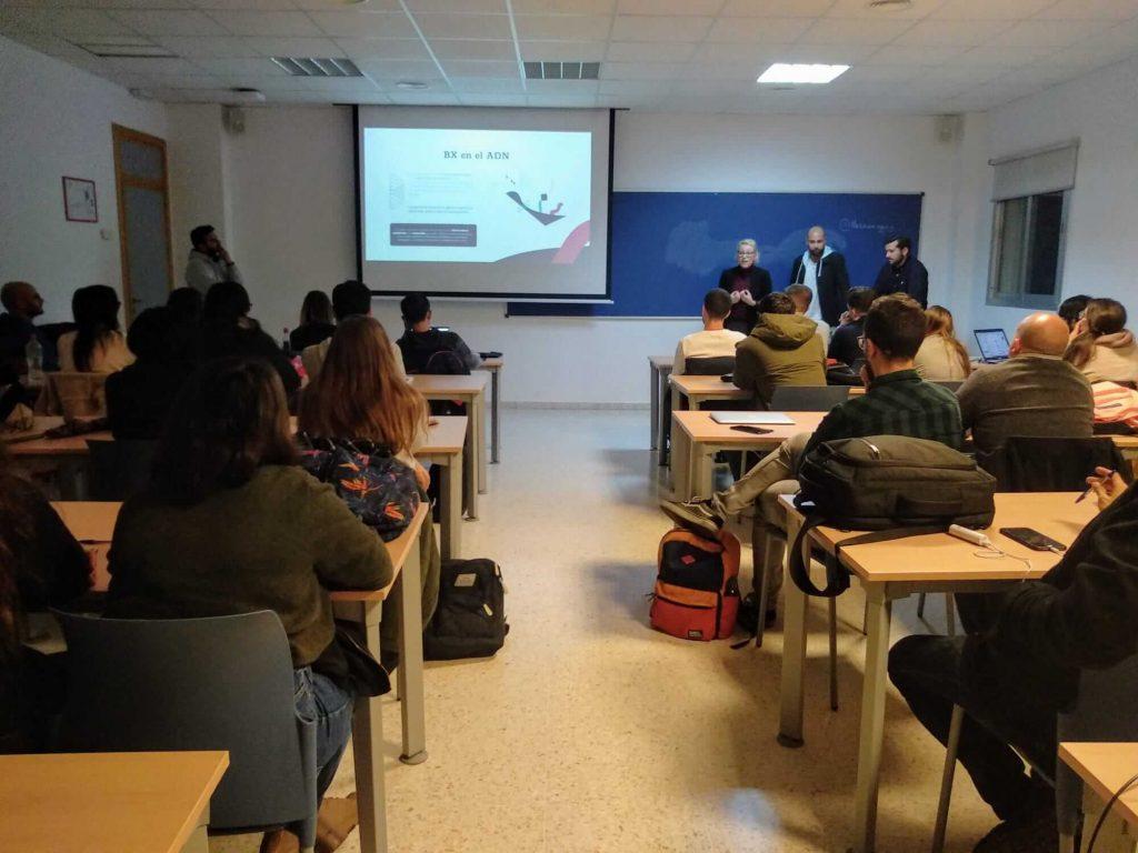 Enseñanzas #semanacadizemprende 2019. The Branx masterclass en la Facultad de Ciencias Sociales y de la Comunicación de la Universidad de Cádiz