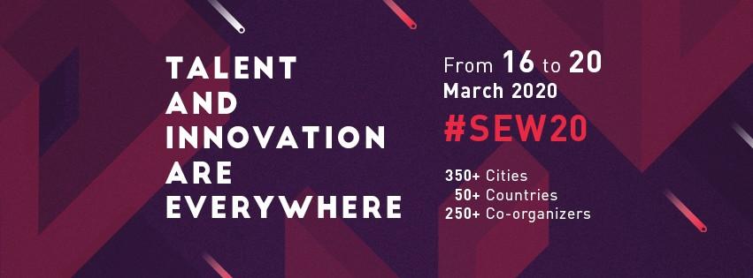 SEW Startup Europe Week 2020