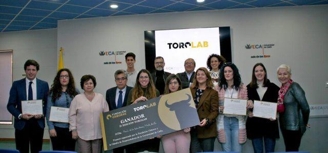 Dos alumnas de la Universidad de Cádiz, ganadoras de la segunda edición del desafío TOROLAB