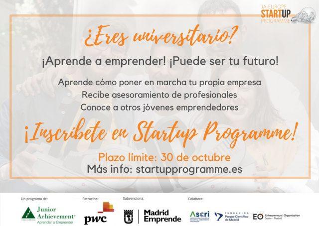 XIII edición de Startup Programme