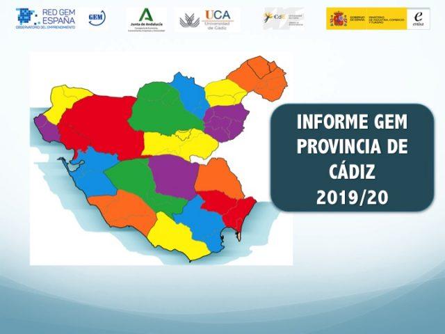 Accede a los resultados del informe GEM Cádiz