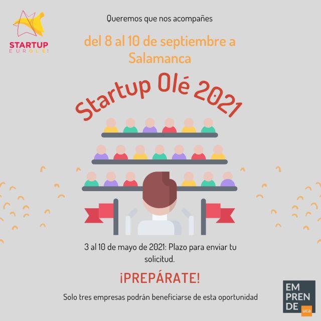 ¡Nos vamos a Startup Olé 2021!