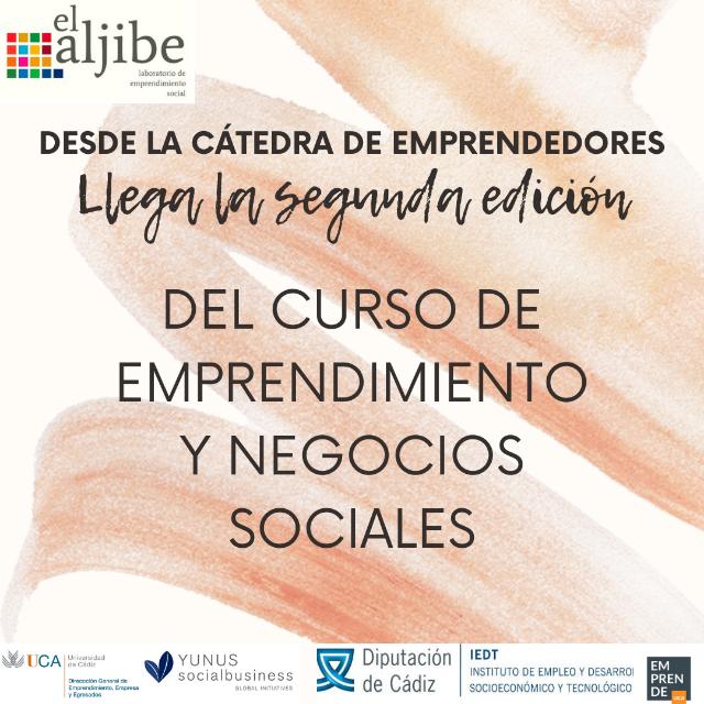 Curso de emprendimiento y negocios sociales
